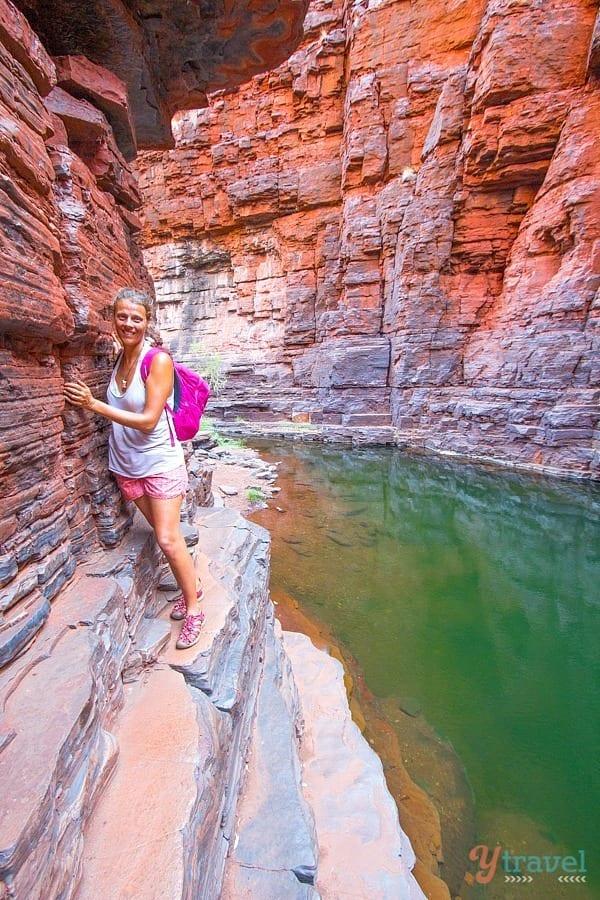 Knox Gorge, Karijini National park - Western Australia