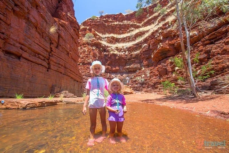 Hancock Gorge, Karijini National Park - Western Australia