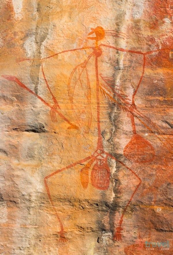 Rock art in Kakadu National Park