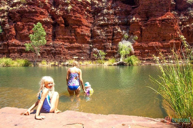 kalamina Gorge, Karijini National Park - Western Australia