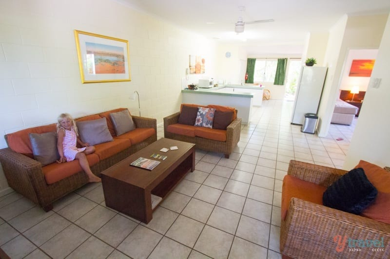 Our 2 bed villa with Airbnb in Broome, Western Australia