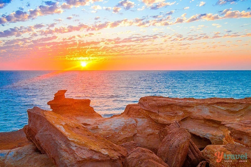Sunset at Gantheaume Point - Broome, Western Australia