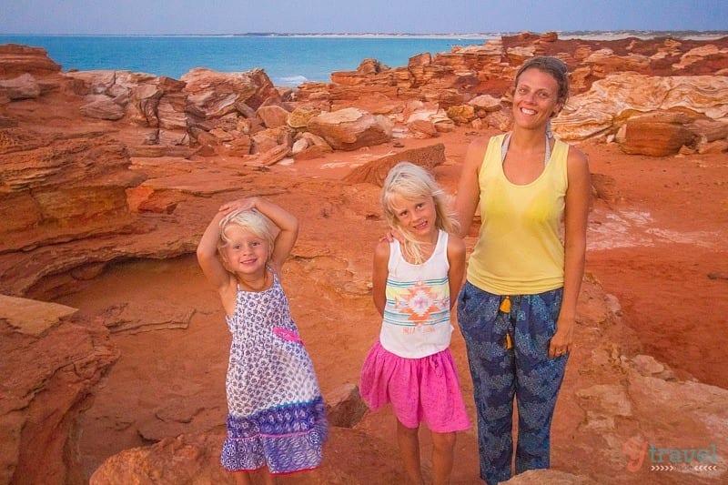 Sunset at Gantheaume Point - Broome, Western Australia