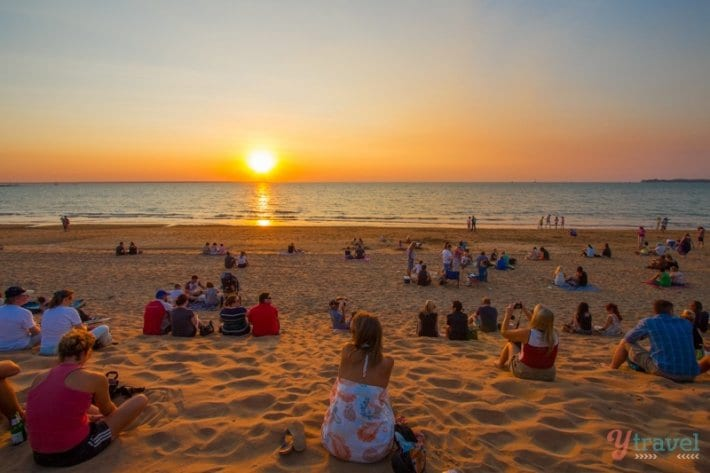 Mindil Beach Susnet - Darwin