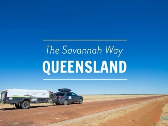 The Savannah Way Drive - Queensland, Australia