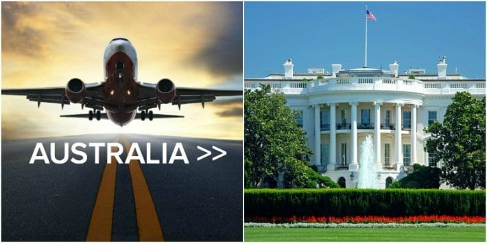 How we saved $2,000 on our flights from Australia to USA