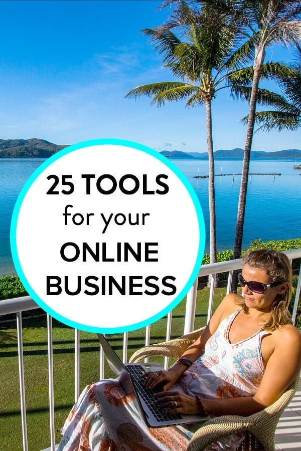 25 tools we use to run our online business