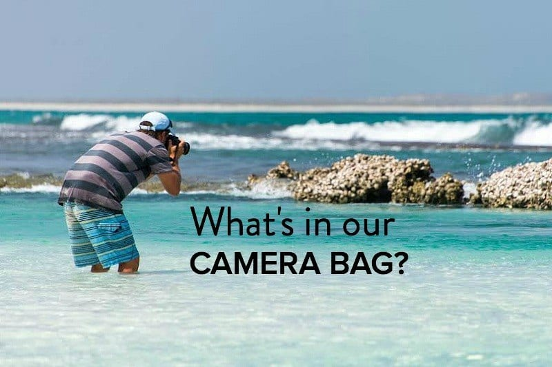 What's in our camera bag? - 4 Canon lenses we use!