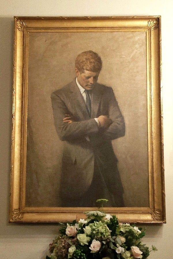 JFK Portrait - inside The White House