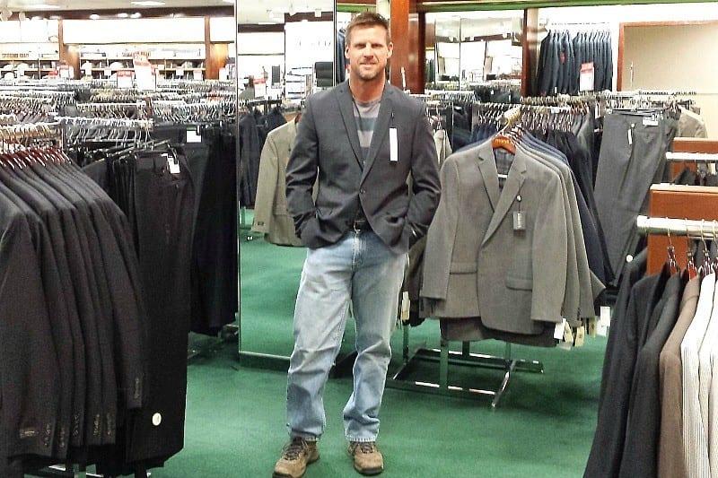 shopping at Macy's