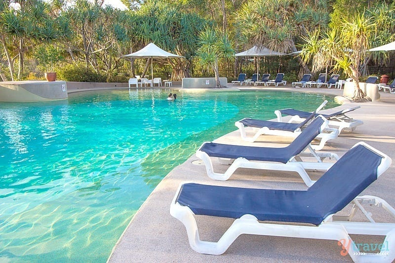 Pool at Kingfisher Bay Resort - Fraser Island, Queensland, Australia