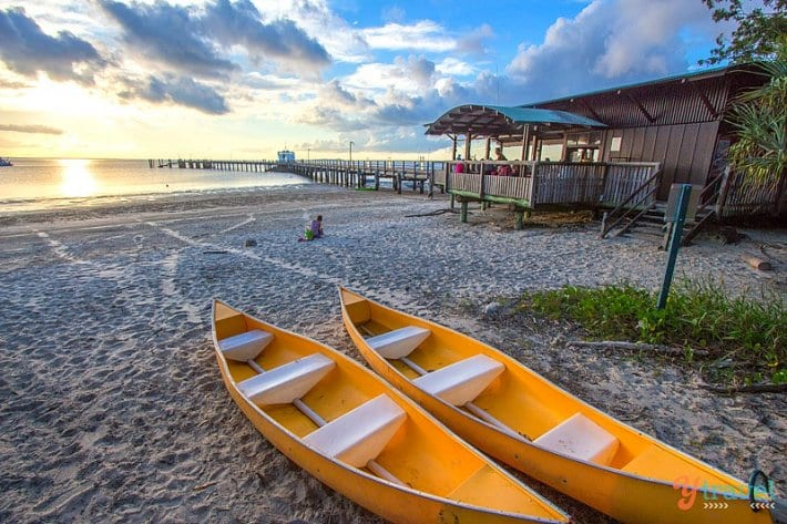 The Jetty Hut on Kingfisher Bay Resort - Fraser Island, Queensland, Australia