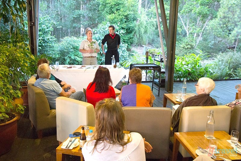 Bushtucker Talk - Kingfisher Bay Resort - Fraser Island, Queensland, Australia