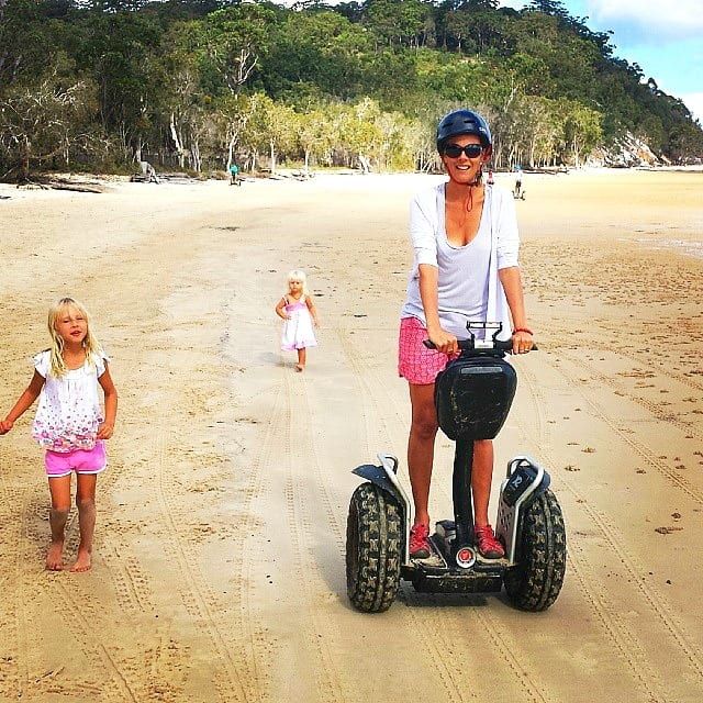 Segway at Kingfisher Bay Resort - Fraser Island, Queensland, Australia