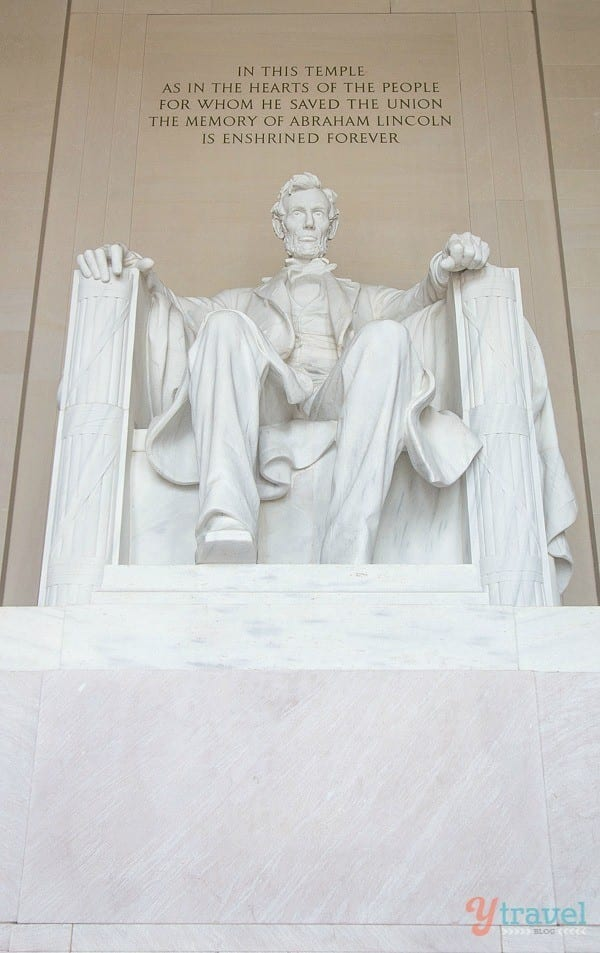 Abraham Lincoln Memorial - Washington DC