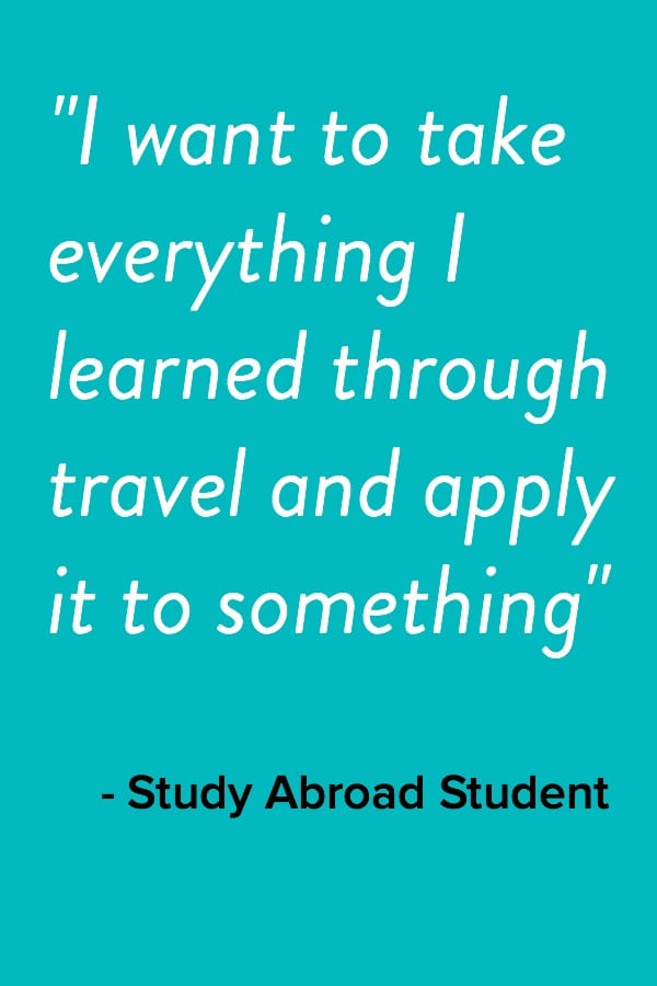 AIFS Study Abroad Faculty and Advisors | Program Benefits