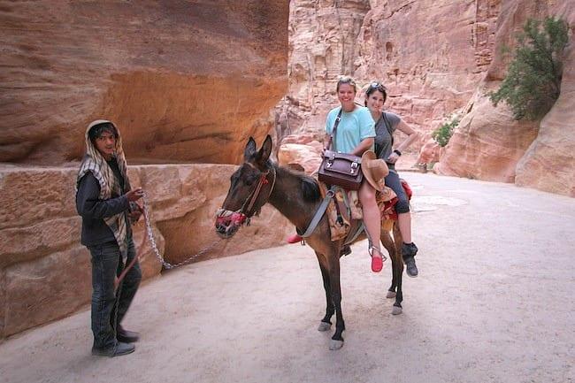 Riding Petra, Jordan