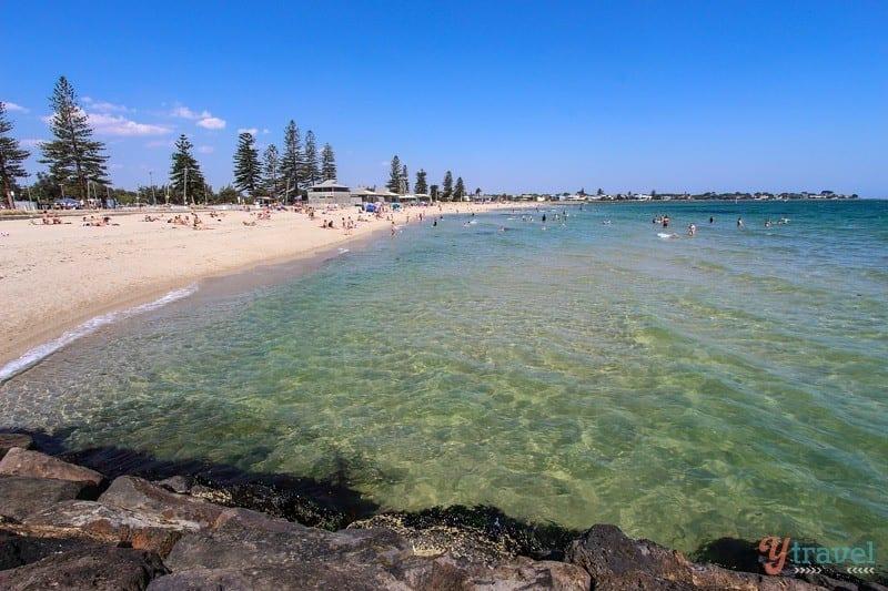 Elwood Beach, Melbourne, Australia