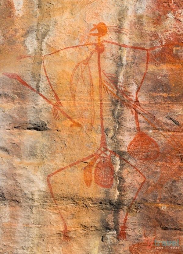 Ubirr Aboriginal Rock Art - Kakadu National Park, Northern Territory, Australia