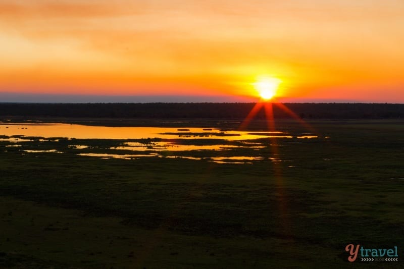 Sunset in Kakadu National Park, Northern Territory, Australia