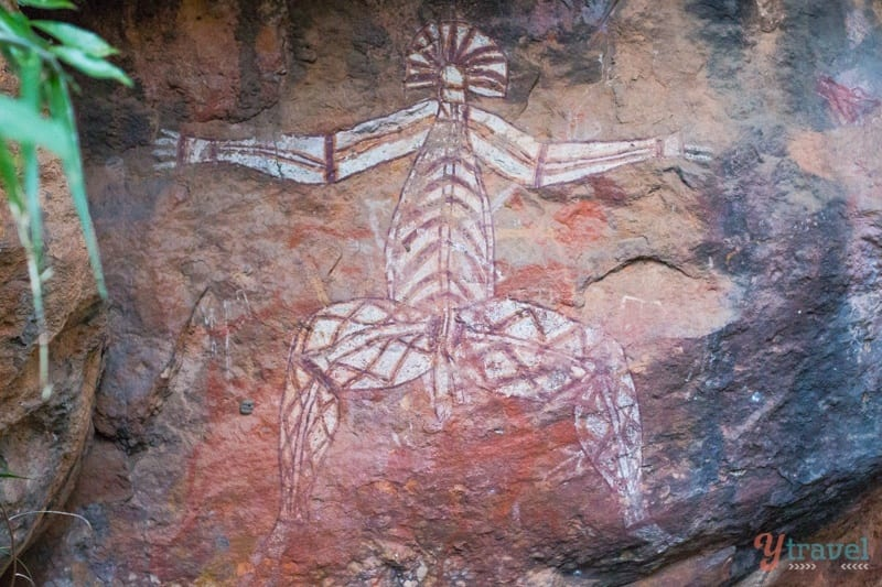 Nourlangie Aboriginal Rock Art - Kakadu National park, Australia