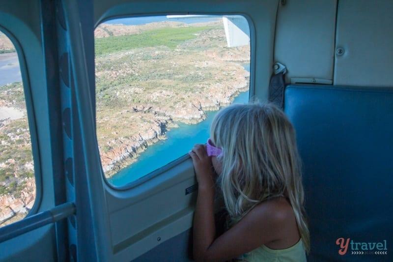 scenic flight over the  Buccaneer Archipelago WA
