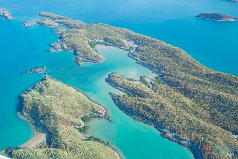 scenic flight  Buccaneer Archipelago Western Australia