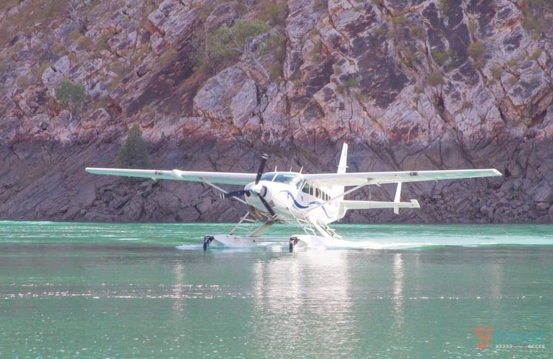 sea plane horizontal falls
