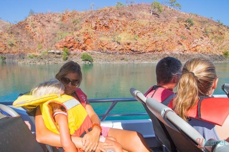 jet boat Horizontal Falls Tour, Western Australia