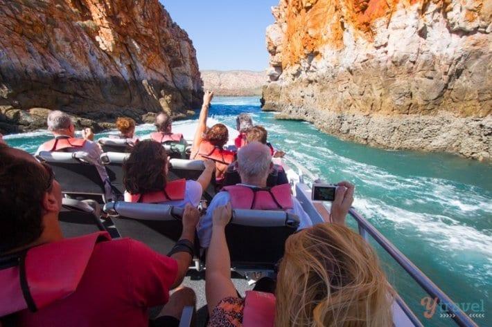 Horizontal Falls Tour, Western Australia