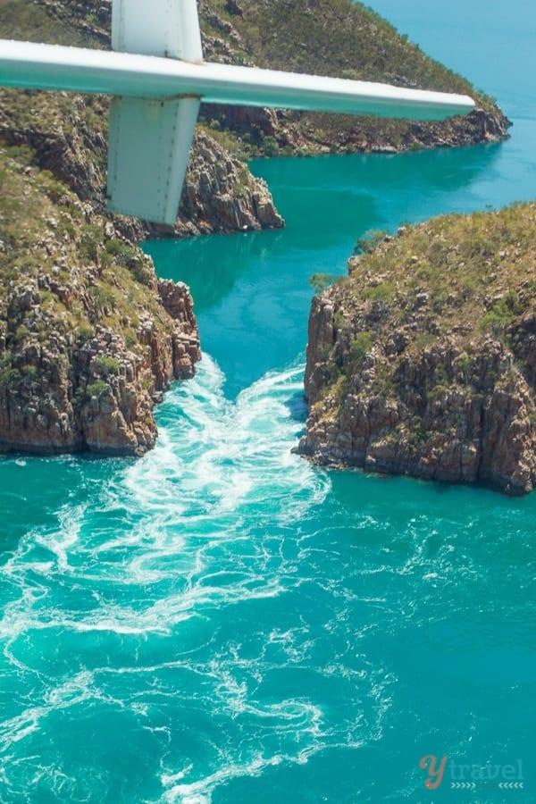 Introducing the Amazing Horizontal Falls in Western Australia