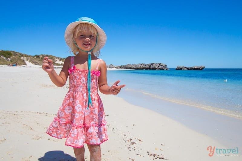 Rottnest island with kids