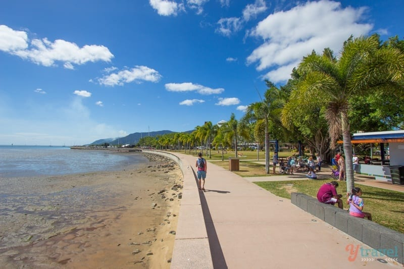 Cairns Esplanade, Queensland, Australia