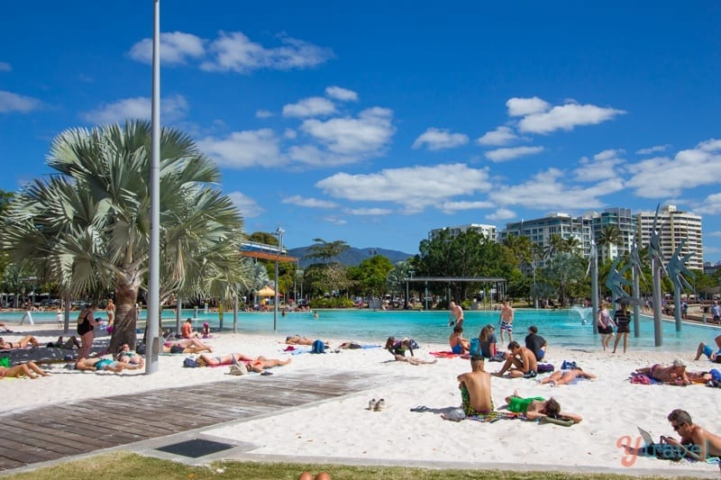 Cairns Lagoon - Queensland, Australia