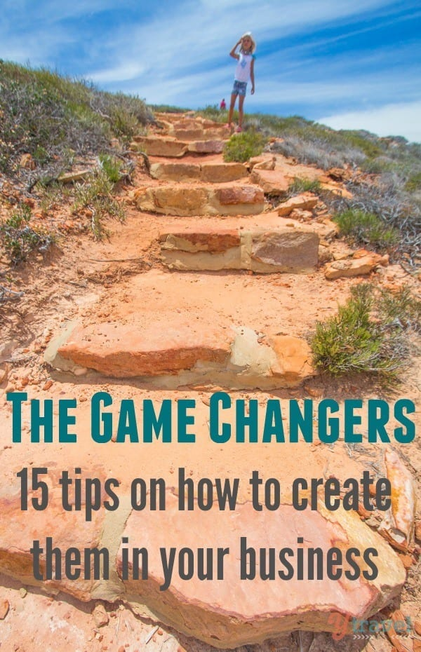 game changers for business