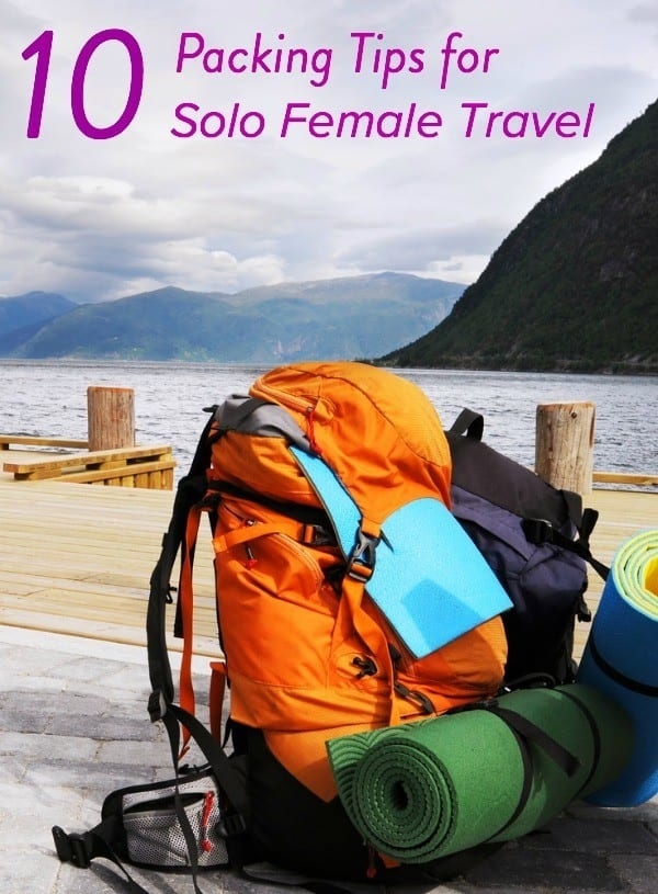 10 Simple Travel Packing Tips For Solo Female Travelers