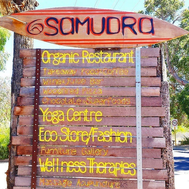 Samadru Cafe, Dunsborough, Western Australia