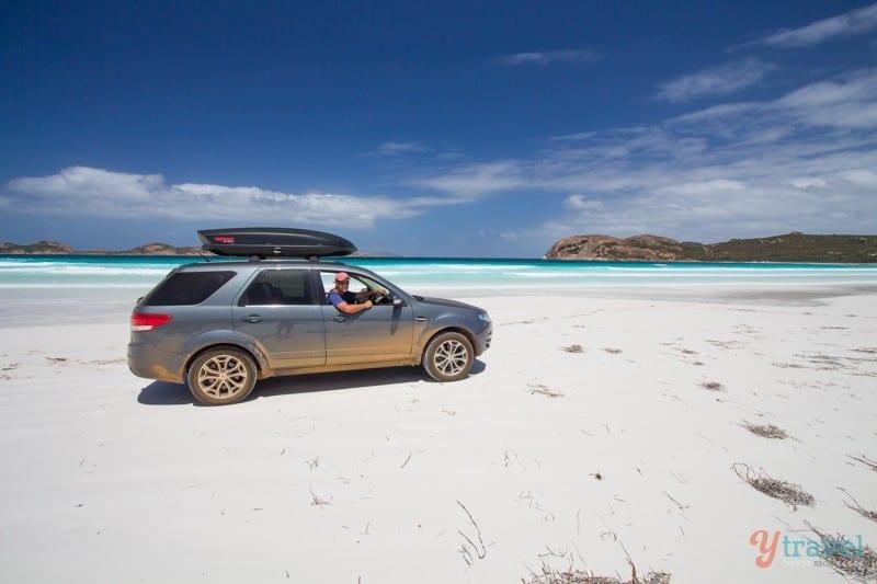 Lucky Bay Beach, Esperance, Western Australia