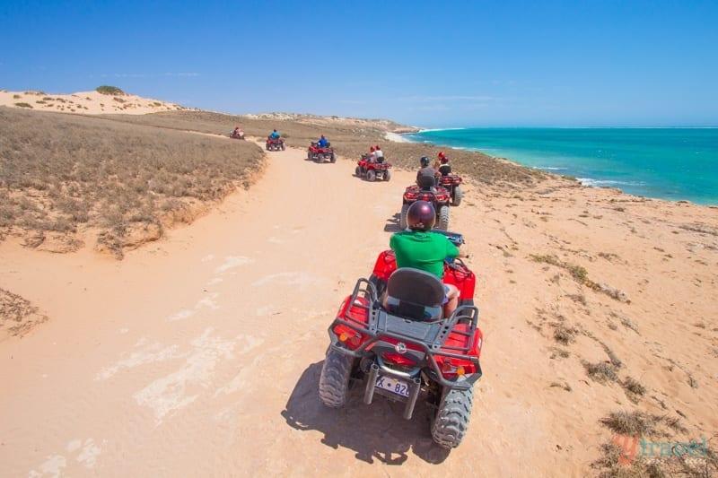 Quad Biking, Coral Bay, Western Australia