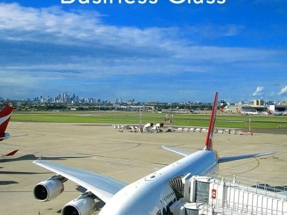 What is it like to fly Qantas Business Class? Like this!