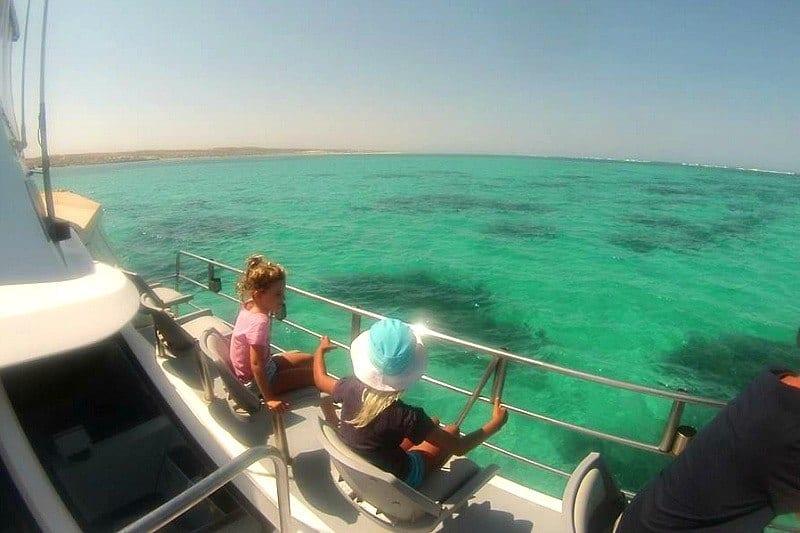 Swimming with Manta Rays on Ningaloo Reef, Western Australia