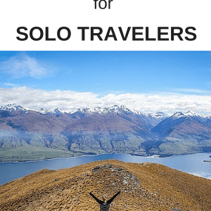 Do you travel solo? Check out these 5 tips for taking photos on your travels