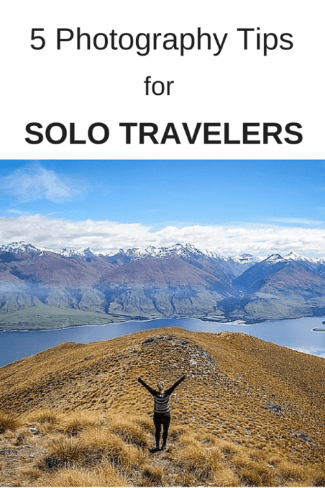 Do you travel solo? Check out these 5 travel photography tips for taking photos on your travels