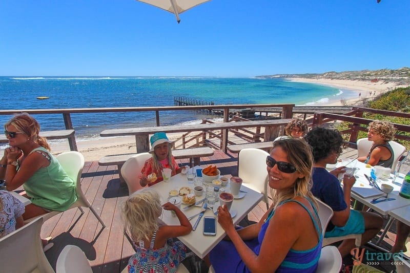 White Elephant Beach Cafe, Gnarabup Beach, Margaret River Region, Western Australia