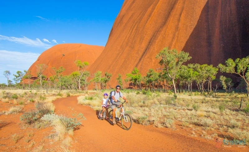 Uluru cycle ride - Central Australia