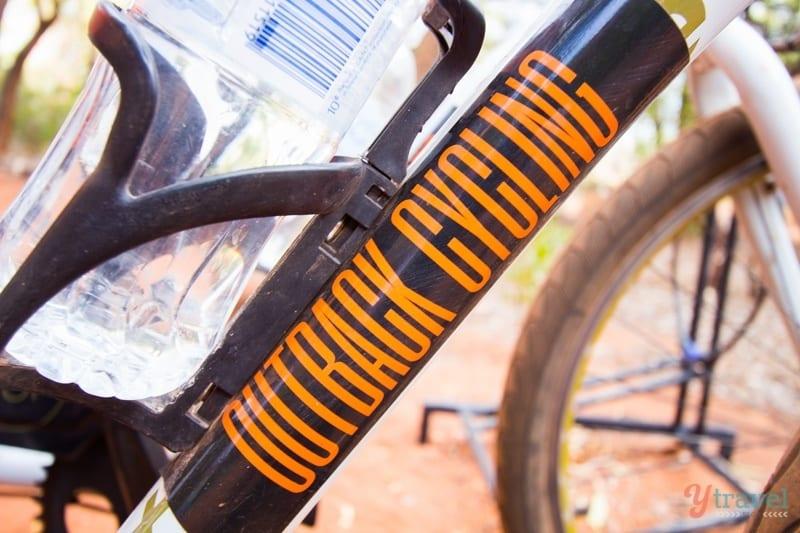 Uluru bike ride - Central Australia