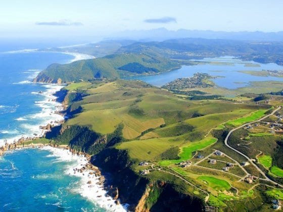 Knysna along the Garden Route in South Africa