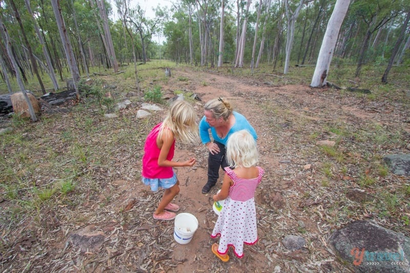 Hunting crystals in Eidsvold, Queensland