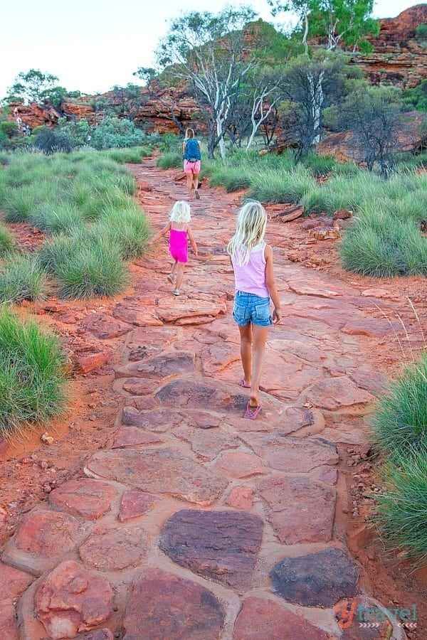 Kings Canyon Rim Walk - Northern Territory, Australia