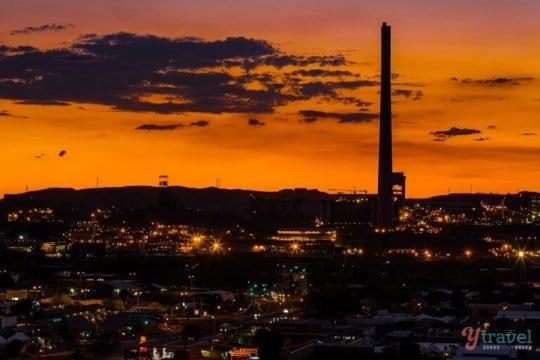 Sunset at Mount Isa, Queensland, Australia